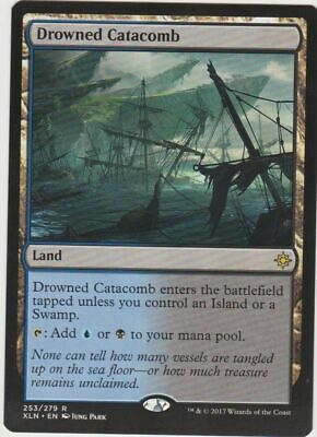 Magic the Gathering - Drowned Catacomb (253/279) Ixalan - NM/M