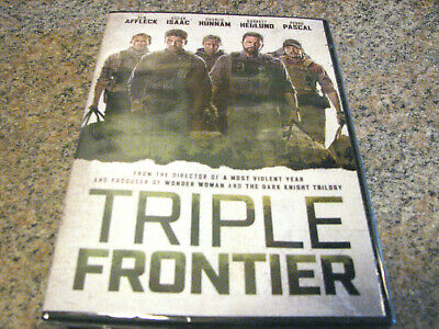 Triple Frontier ( Dvd 2019) Brand New And In Stock Now~!