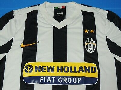 0e6959dd558 Used Nike Juventus F.C. Juve Soccer Football Authentic NIKE-FIT Jersey Shirt  (M)