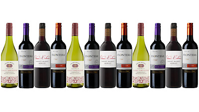 Best Seller Mixed Grant Burge & Frontera Wine Pack 12x750mL - FREE SHIPPING