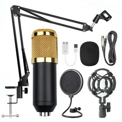 Professional Broadcasting Studio Recording Condenser Microphone Mic Kit