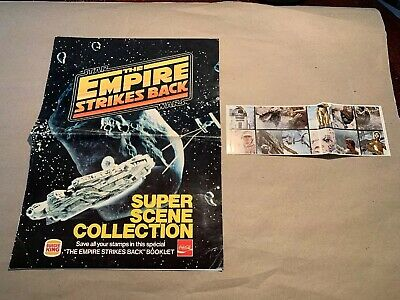 Vintage 1980 Star Wars Empire Strikes Back Super Scene Collection Burger King
