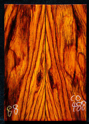 """Cocobolo #488 Rosewood Knife Scales 5""""x1.75""""x1/2"""" see 100 species in my store"""