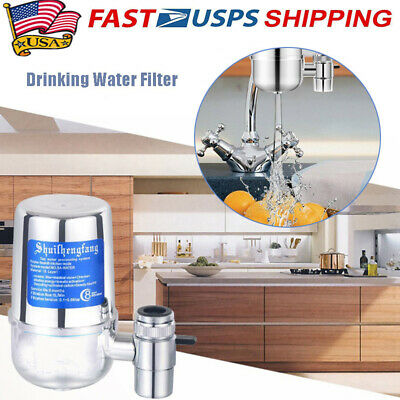 Water Filter For Kitchen Sink Bathroom Faucet Mount Filtration Tap Purifier RB
