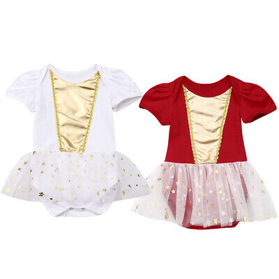 Fashion Sweet Newborn Baby Girl Lace Romper Bodysuit Jumpsuit Clothes Outfits