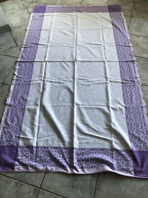 Vintage Matalesse Or Double Damask? Quilt,Tablecloth.