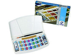 Van Gogh Watercolor Pocket Box Set of 18 Half Pans