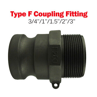 Camlock Coupling Fitting, Ibc Tank, Male, Hose Tail Type F 3/4'' 1'' 1-1/2'' 2''
