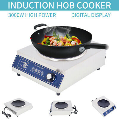 Commercial Electric Cooker Portable Induction Hob Kitchen Induction Cooker 3KW