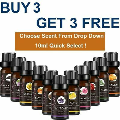 10ml Aromatherapy Essential Oils Natural Pure Organic Essential Oil Fragrances