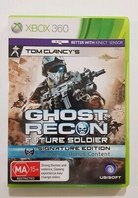 Tom Clancys Ghost Recon: Future Soldier, signature edition (Xbox 360)