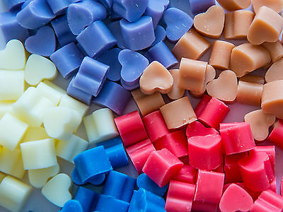 20 Highly Scented Mini Soy Wax Melts For Oil Burner - Many Fragrances