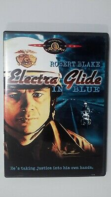 Electra Glide in Blue RARE OOP DVD PRE-OWNED VG COND. Robert Blake