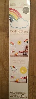 🍄🌈🍄 Little Bird By Jools Oliver @ Mothercare Extra Large Wall Stickers  New
