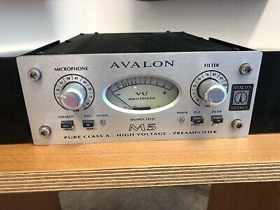 Avalon M5 Mic Preamp Class A-Technik High-End + Rack-Mount Kit - TOP Zustand