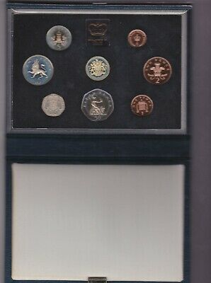 1983 Royal Mint Standard Proof 8 Coin Set