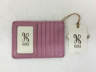 NWT Hobo International Leather Card Wallet Wristlet Lemongrass MSRP $68.