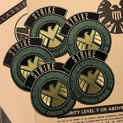 • Shield • Strike Team Patch • Captain America Winter Soldier Project Insight •