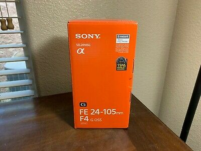 Brand New Sony FE 24-105mm f/4 G OSS Lens - SEL24105G - US Model
