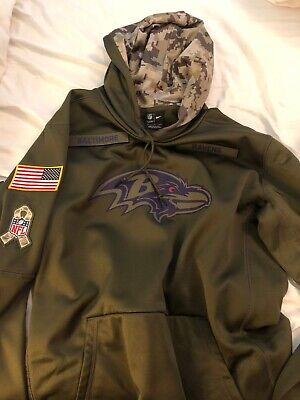 NEW MEN'S INDIANAPOLIS Colts Olive Salute to Service Sideline Therma  for sale