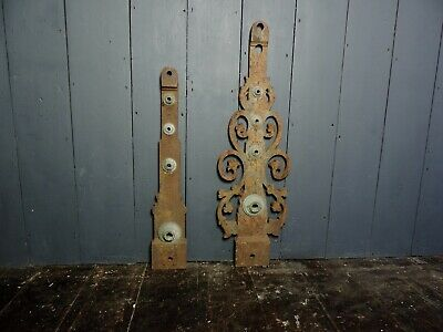 Large Reclaimed Antique 19th Century Victorian Cast Iron Clock Arms / Hands