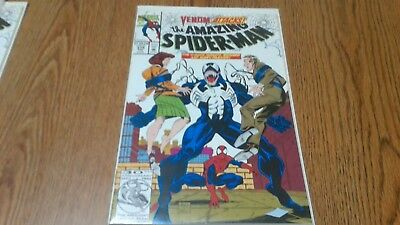 The Amazing Spider-Man #374 (Feb 1993, Marvel) Venom Attacks! Marvel Comic Movie