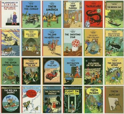 BUNDLE COLLECTION OF Tintin Adventures PDF In English or SPANISH