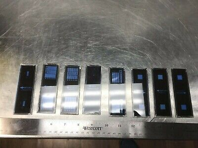 Total of Eight Titmus Vision Tester Screen Slides SA-BRL2A SMPS-30-3 and MORE!