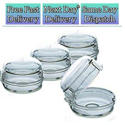 Dreambaby - 8 Stove & Oven Knob Covers - Child Safety Locks