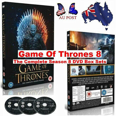 AU Stock 2019 Brand New Sealed Game Of Thrones DVD Box The Complete Season Sets