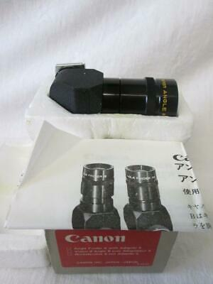 Canon Angle Finder B + Adaptor S + Instructions Boxed