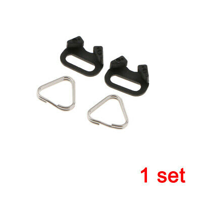 4Pieces Camera Strap Triangle Split Ring Hook 10mm for Canon Nikon Sony Olympus
