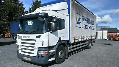 scania p230 curtainsider sleeper cab 2006 semi auto with clutch clean