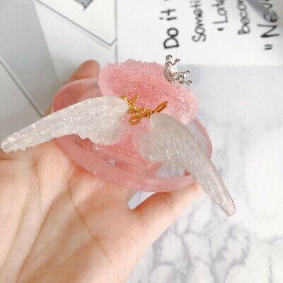 1Pc Angel Wing Silicone Resin Fondant Mold for DIY Jewelry Making Tool Mould