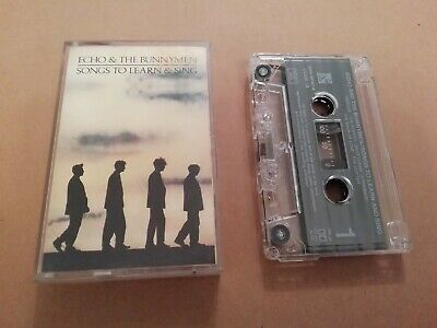 Echo & The Bunnymen * Songs To Learn & Sing * Original Uk Cassette 1985