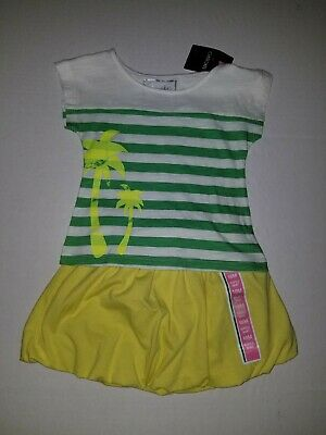NEW Cherokee Baby Girls Size 18M Palm Tree Top Outfit & Circo Bubble Skirt Set