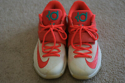 reputable site 4798a 17791 NIKE KD 7 Xmas Eggnog Basketball Shoe Size 14 Kevin Durant ...