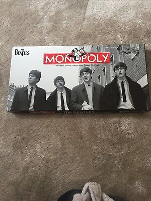 The Beatles Monopoly Collectors Edition BRAND NEW AND ALL CONTENTS STILL SEALED
