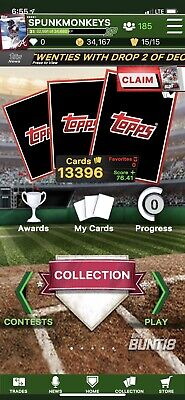Topps Bunt Digital You Pick 8 Digital Cards For 1 BUCK LIQUIDATION!! Digital