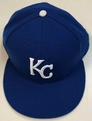 sports shoes bb78b 5f08d Kansas City Royals New Era 59FIFTY 7 3 4 Fitted Hat Pre Owned Baseball Cap