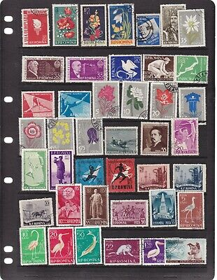 Romania 5 Scans Mixed Mnh. Mh. Used Lot 2