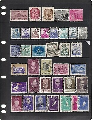 Romania 5 Scans Mixed Mnh. Mh. Used Lot 3
