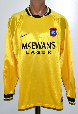 Rangers Scotland 1998/1999 Goalkeeper Football Shirt Jersey Nike Size Xl