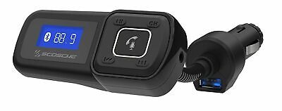 Scosche FM Transmitter Bluetooth Handsfree Car Kit Charger With LCD & USB