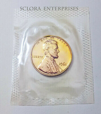 1961 Lincoln Memorial Cent / Penny *Proof* **Free Shipping**