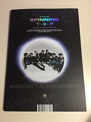 GOT7 Spinning Top Insecurity Version JB Random Page NO PCS