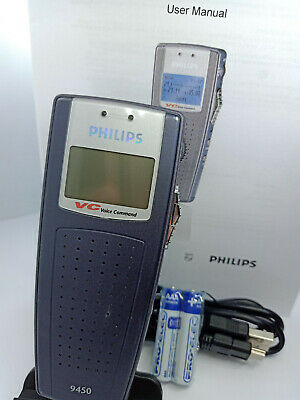 Philips Digital Pocket Memo DPM 9450 Voice Recorder Dictaphone Portable LFH9450