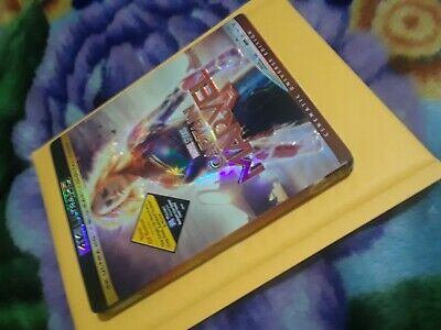 Captain Marvel 4K ULTRA and Blu-ray  with slipcover No Digital Code