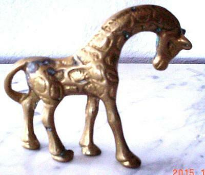 VTG Brass Grecian Horse Figurine Mid Century Decor Collectibles Excellent Good.