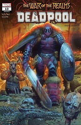 Deadpool #13 Main Cover War of the Realms Tie-In STOCK PHOTO Marvel 2019